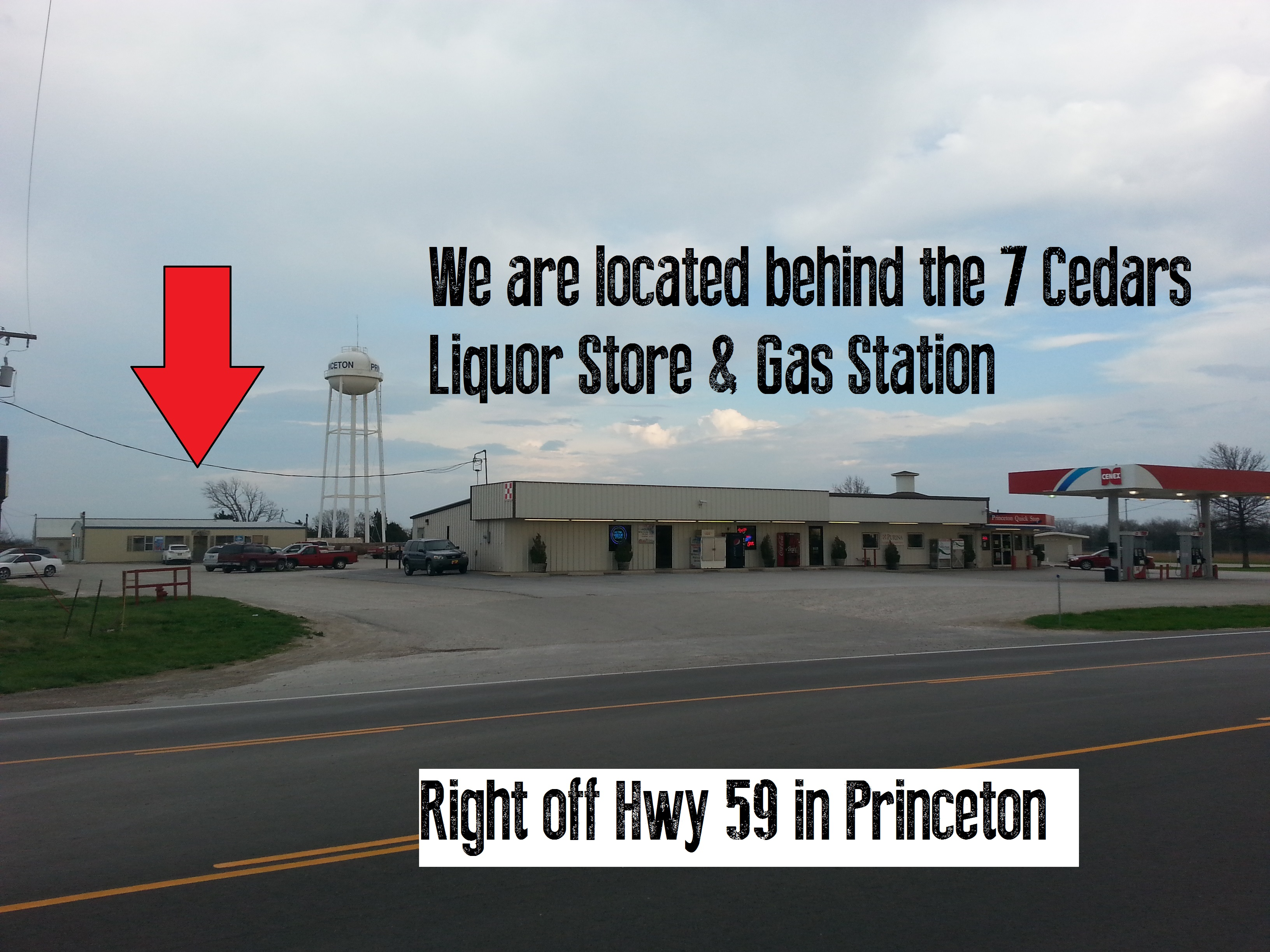Find Us | Brand N Iron Bar and Grill – Princeton KS